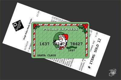The Polar Express Card